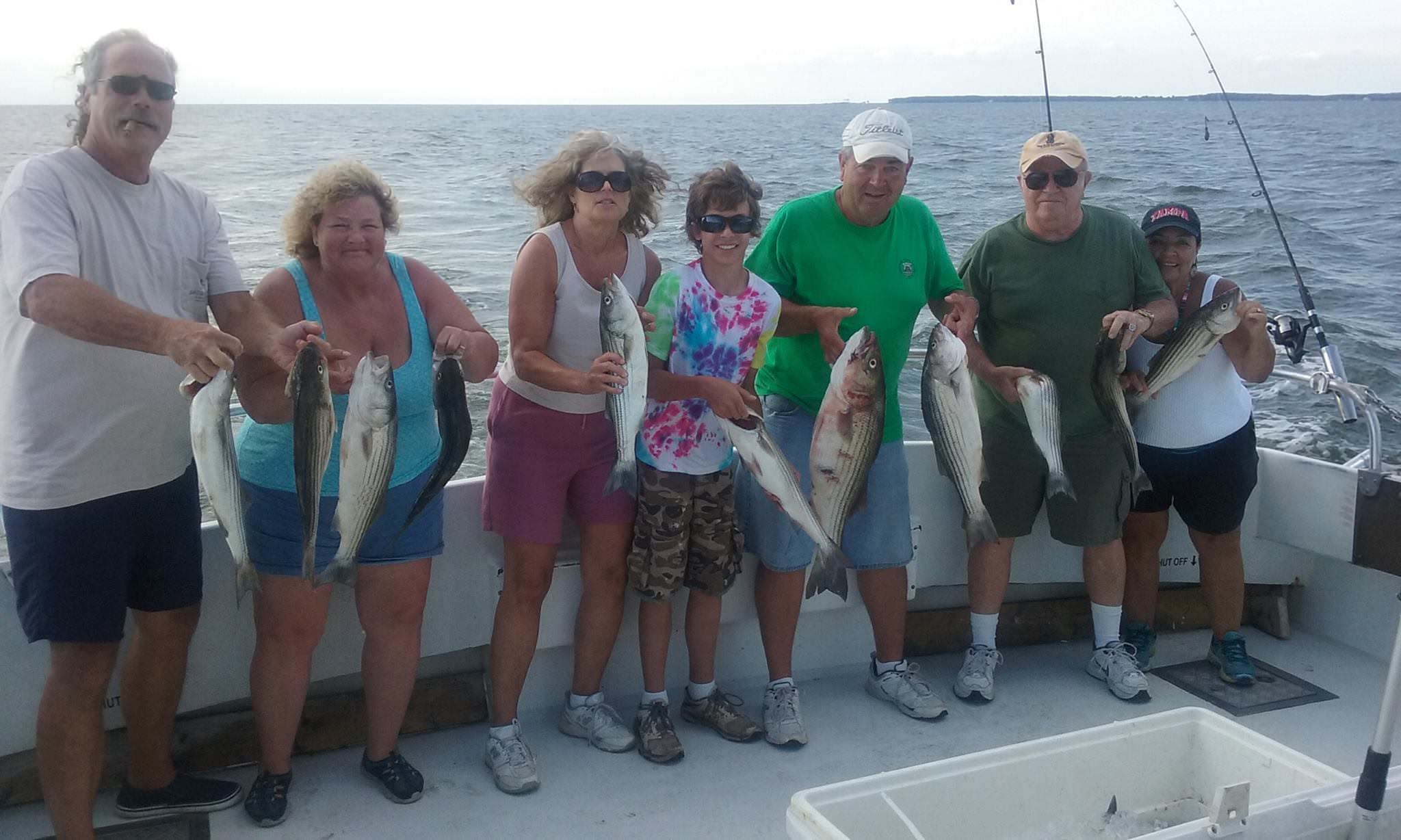 Chumming For Chesapeake Bay Rockfish!