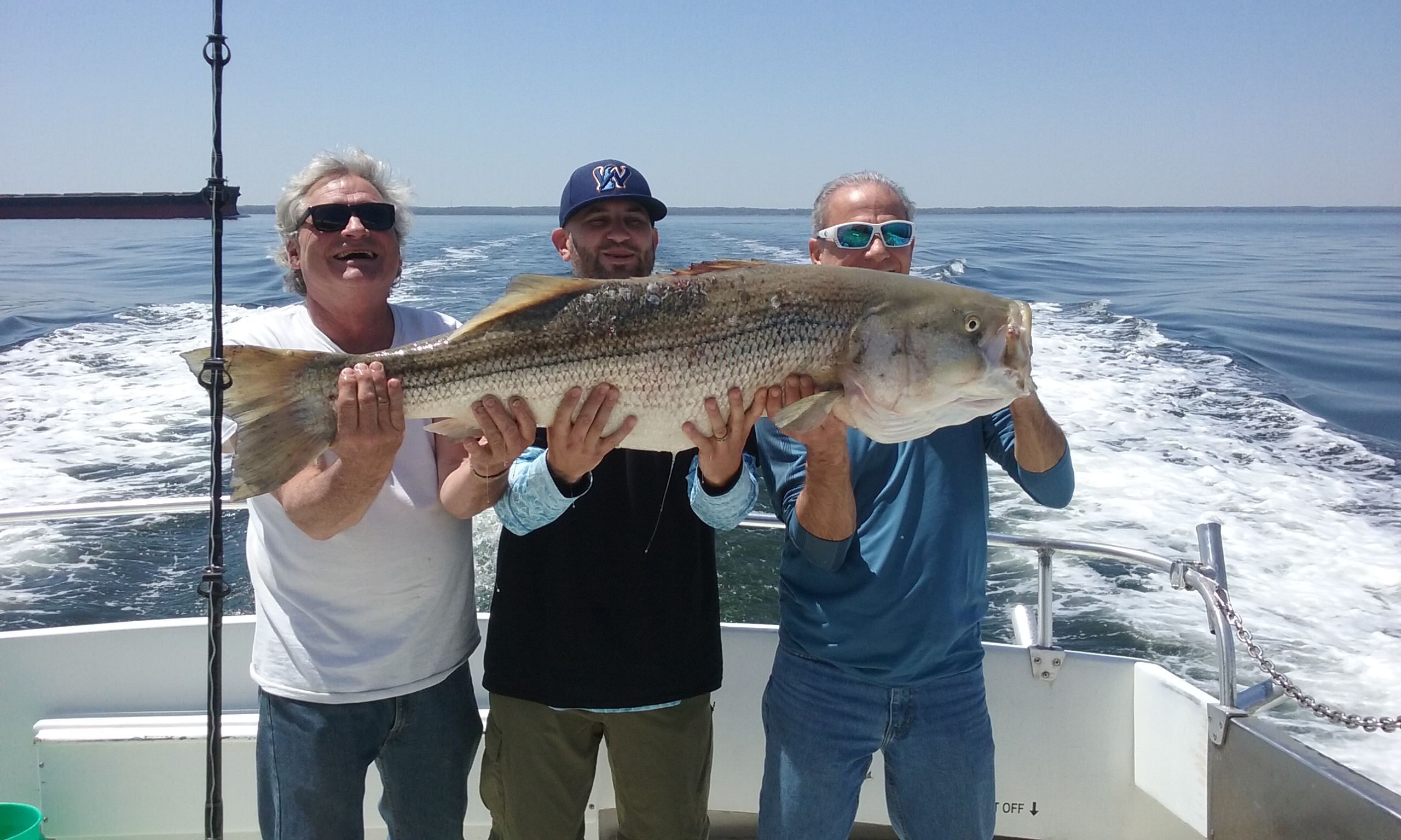 Here's the Biggest Rockfish of the Day!