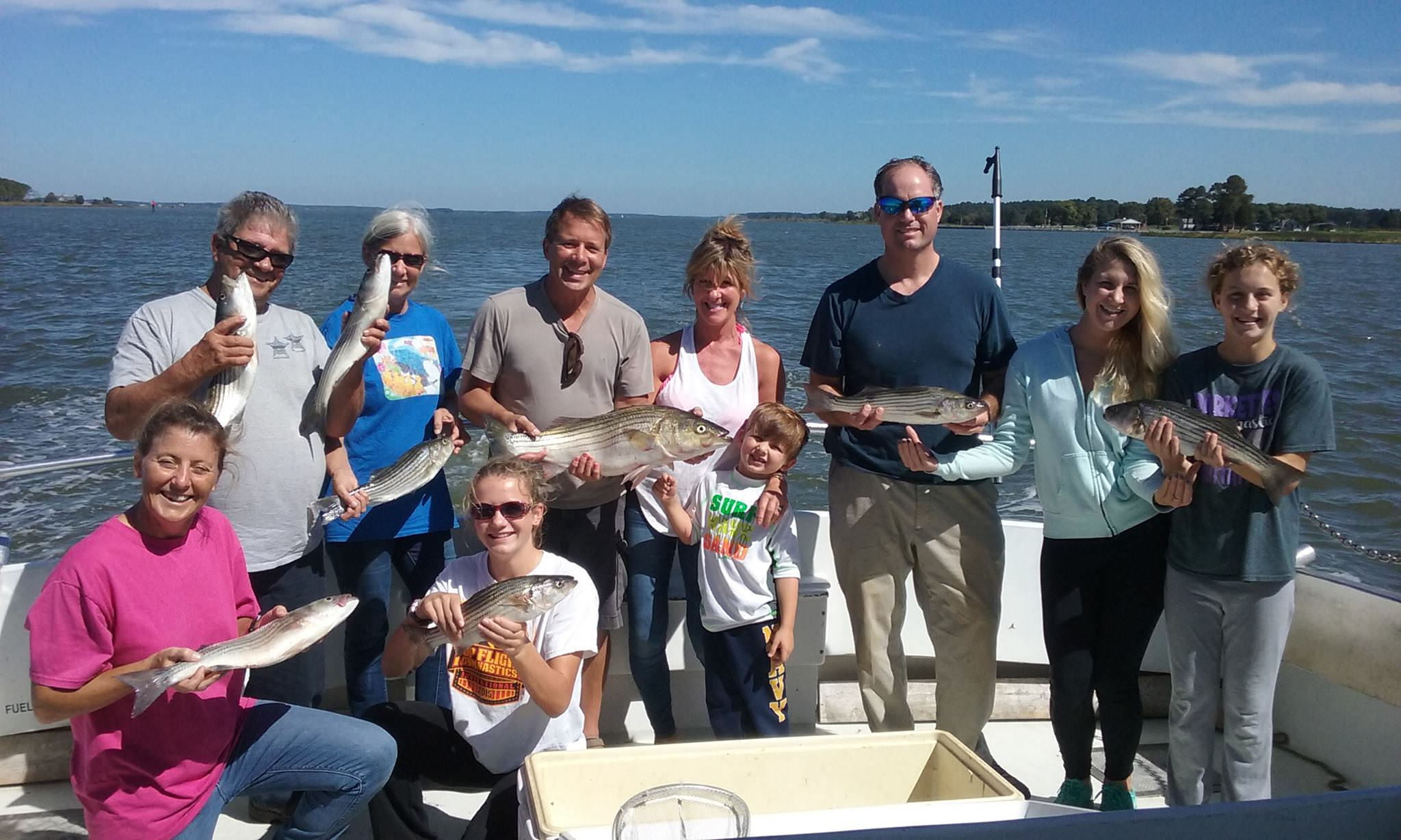 More Great Rockfishing Action On The Chesapeake Bay!
